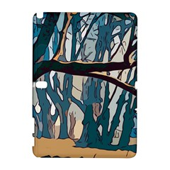 Forest Artwork Card Greeting Woods Samsung Galaxy Note 10 1 (p600) Hardshell Case
