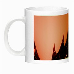 Sci Fi Red Fantasy Futuristic Night Luminous Mugs