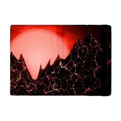 Sci Fi Red Fantasy Futuristic Apple Ipad Mini Flip Case by Wegoenart