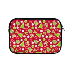 Christmas Paper Scrapbooking Pattern Apple Ipad Mini Zipper Cases
