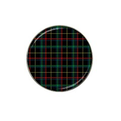 Plaid Tartan Checks Pattern Hat Clip Ball Marker (4 Pack)