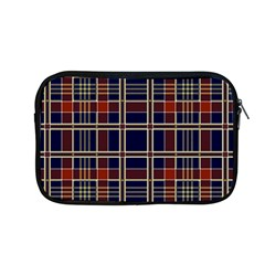 Plaid Tartan Scottish Navy Gold Apple Macbook Pro 13  Zipper Case