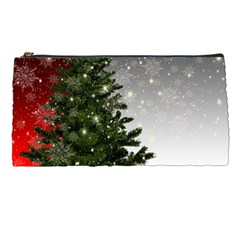Christmas Fir Tree Mockup Star Pencil Cases