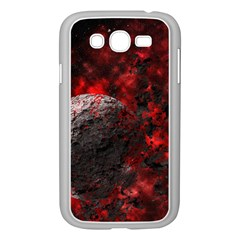 Planet Explode Space Universe Samsung Galaxy Grand Duos I9082 Case (white)