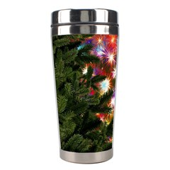 Christmas Tree Fir Tree Star Stainless Steel Travel Tumblers