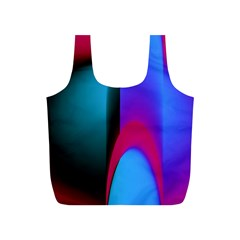Abstract Art Abstract Background Full Print Recycle Bag (s)