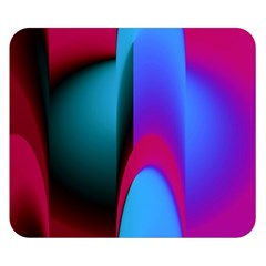 Abstract Art Abstract Background Double Sided Flano Blanket (small)
