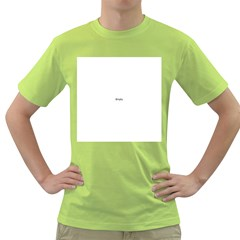 Abstract Pattern Green T Shirt
