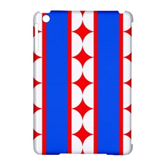 Stars Stripes July 4th Flag Blue Apple Ipad Mini Hardshell Case (compatible With Smart Cover)
