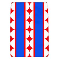 Stars Stripes July 4th Flag Blue Removable Flap Cover (l)