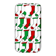 Stocking Background Samsung Galaxy S4 Classic Hardshell Case (pc+silicone)