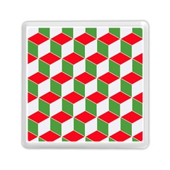 Christmas Abstract Background Memory Card Reader (square)