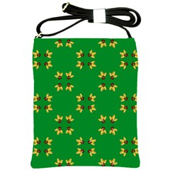 Background Christmas Shoulder Sling Bag
