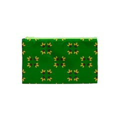 Background Christmas Cosmetic Bag (xs)