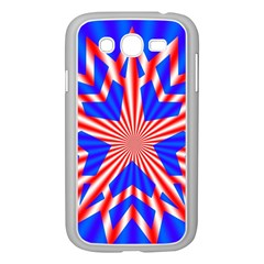 Star Explosion Burst Usa Red Samsung Galaxy Grand Duos I9082 Case (white)