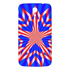 Star Explosion Burst Usa Red Samsung Galaxy Mega I9200 Hardshell Back Case