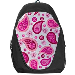 Paisley Pattern Art Background Backpack Bag