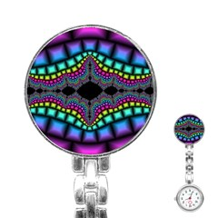 Fractal Art Artwork Digital Art Stainless Steel Nurses Watch by Wegoenart