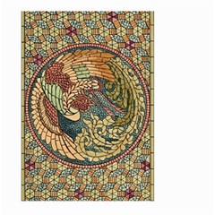 Wings Feathers Cubism Mosaic Large Garden Flag (two Sides)