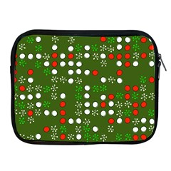 1960 s Christmas Background Apple Ipad 2/3/4 Zipper Cases
