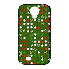1960 s Christmas Background Samsung Galaxy S4 Classic Hardshell Case (pc+silicone)