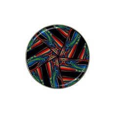 Abstract Art Pattern Hat Clip Ball Marker
