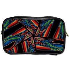 Abstract Art Pattern Toiletries Bag (two Sides)