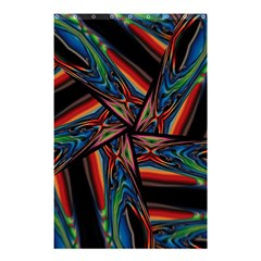 Abstract Art Pattern Shower Curtain 48  X 72  (small)