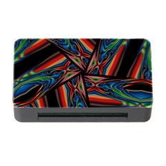 Abstract Art Pattern Memory Card Reader With Cf