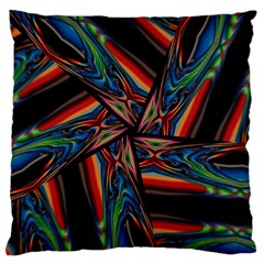 Abstract Art Pattern Large Cushion Case (one Side)