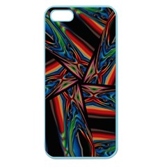 Abstract Art Pattern Apple Seamless Iphone 5 Case (color)