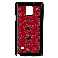 Christmas Pattern Samsung Galaxy Note 4 Case (black)
