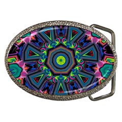 Abstract Art Background Belt Buckles