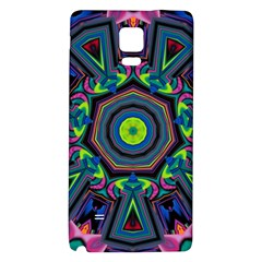 Abstract Art Background Samsung Note 4 Hardshell Back Case