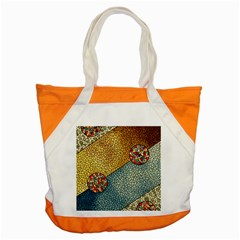 Background Cubism Circle Shape Accent Tote Bag by Wegoenart