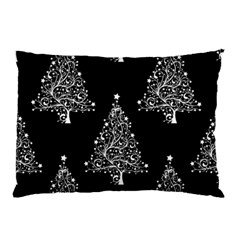 Christmas Tree Modern Background Pillow Case (two Sides) by Wegoenart