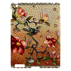 Flower Cubism Mosaic Vintage Apple Ipad 3/4 Hardshell Case
