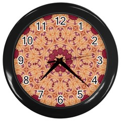 Abstract Art Abstract Background Wall Clock (black) by Wegoenart
