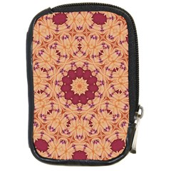 Abstract Art Abstract Background Compact Camera Leather Case