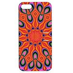 Art Abstract Background Pattern Apple Iphone 5 Hardshell Case With Stand
