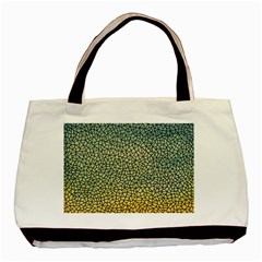 Background Cubism Mosaic Vintage Basic Tote Bag (two Sides) by Wegoenart