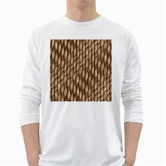 Woven Rope Texture Textures Rope Long Sleeve T Shirt