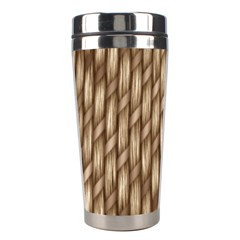 Woven Rope Texture Textures Rope Stainless Steel Travel Tumblers by Wegoenart