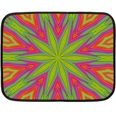 Abstract Art Abstract Background Double Sided Fleece Blanket (mini)