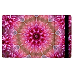 Flower Mandala Art Pink Abstract Apple Ipad Pro 12 9   Flip Case