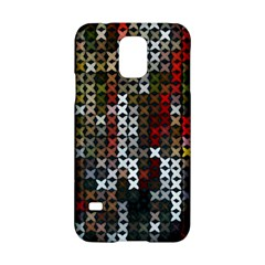 Christmas Cross Stitch Background Samsung Galaxy S5 Hardshell Case
