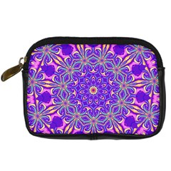 Art Abstract Background Digital Camera Leather Case