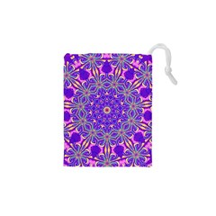 Art Abstract Background Drawstring Pouch (xs)