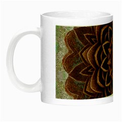 Abstract Art Texture Mandala Night Luminous Mugs