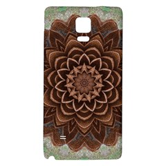 Abstract Art Texture Mandala Samsung Note 4 Hardshell Back Case